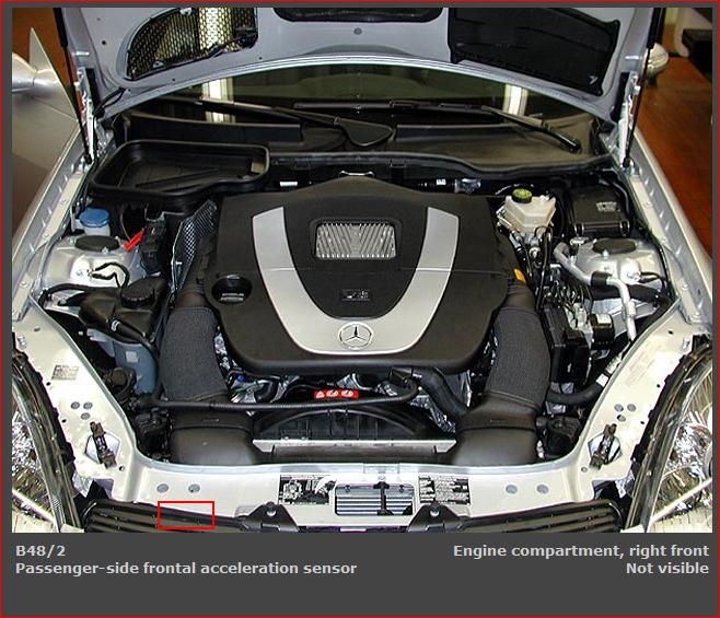 mercedes srs sensor location  mercedes  free engine image