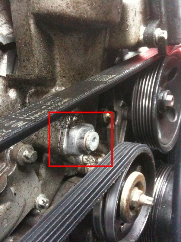 1999 Ml320 Front Engine Oil Leak