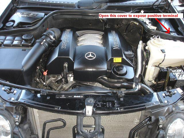 I Have A 2003 Clk 430 The Battery Is Dead And I Cannot Get