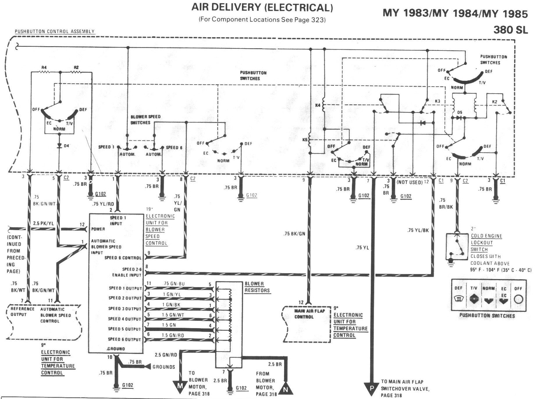 Mercedes Benz Wiring Diagram 1985 300sd Diagrams 300d 1983 190e 300 Td