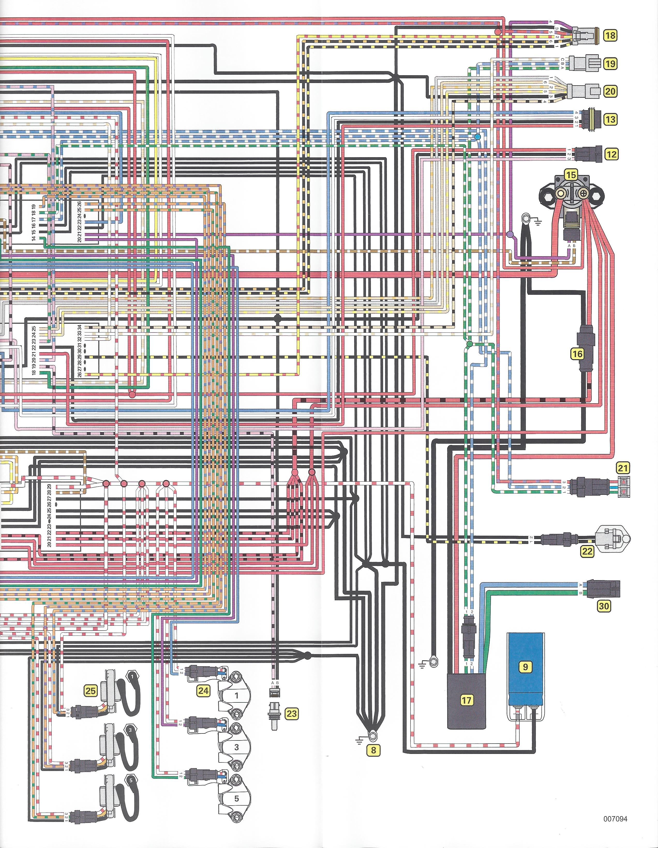 i just replaced a battery on my pontoon and now my 115 etec emm wiring diagram etec wiring harness diagram