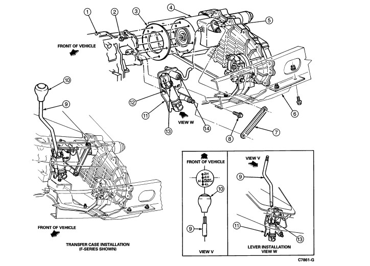 1994 f150 xlt: trans..5.0 eng i..shifter..transfer case..bolts 2003 ford f 150 ignition wiring diagram #3