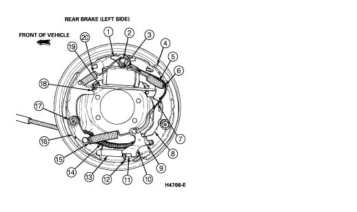 1994 ford ranger wheel diagram  1994  free engine image