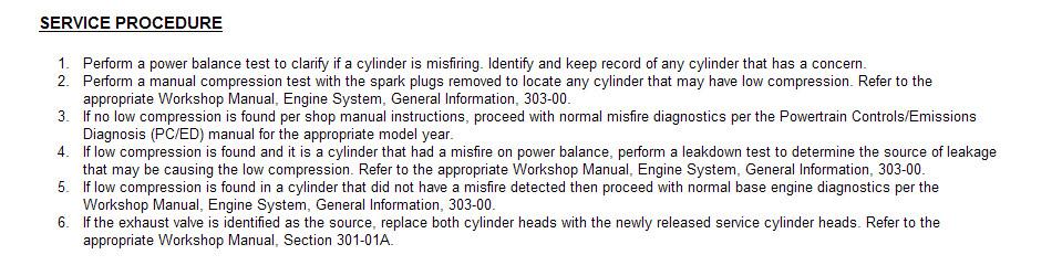 2004 ford ranger service bulletins