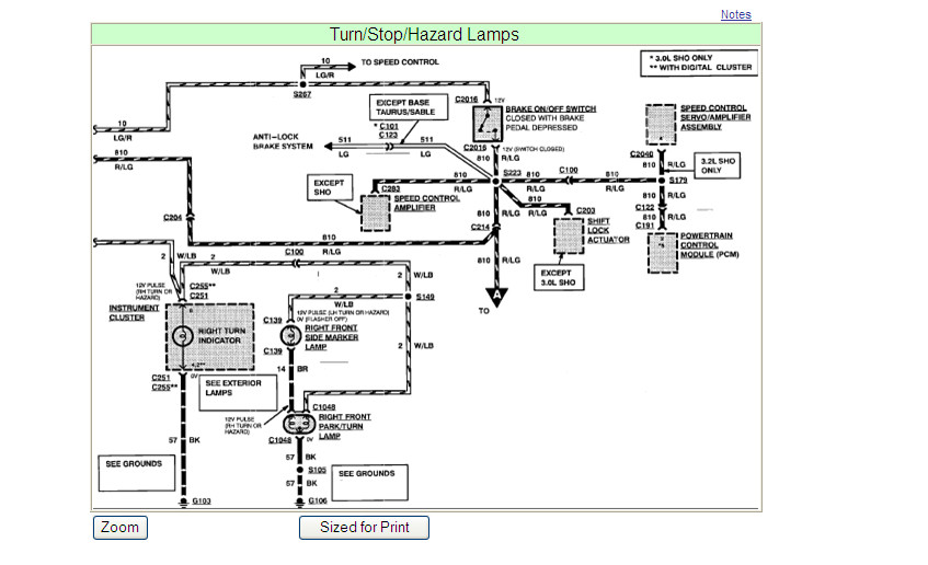 93 sable wiring diagram  93  get free image about wiring