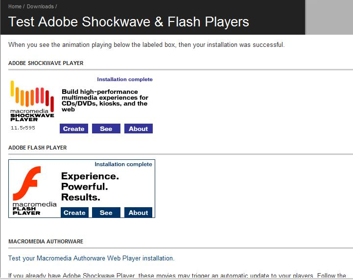 check for flash player