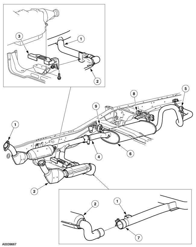 2001 ford explorer exhaust diagram html