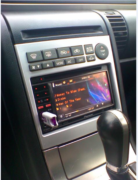 G Radio on Infiniti G35 Battery Size