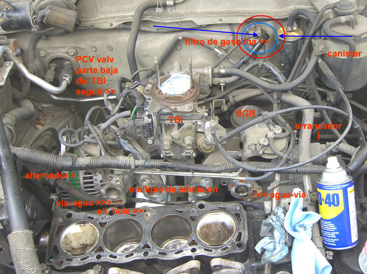I have a 1987 Nissan Sentra, I just replaced the AIT ...