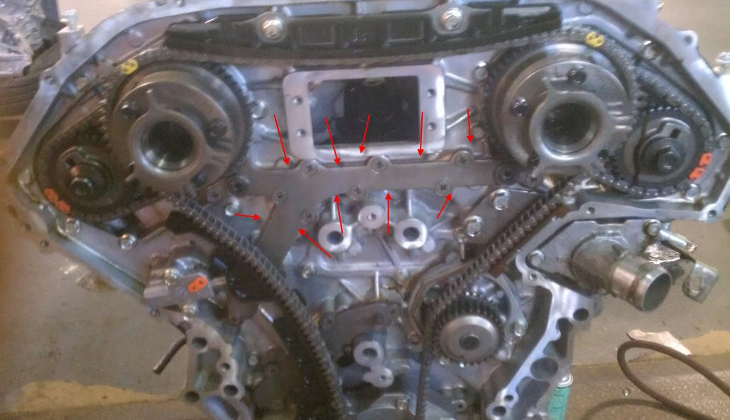 Service Manual 2007 Nissan Pathfinder Timing Chain