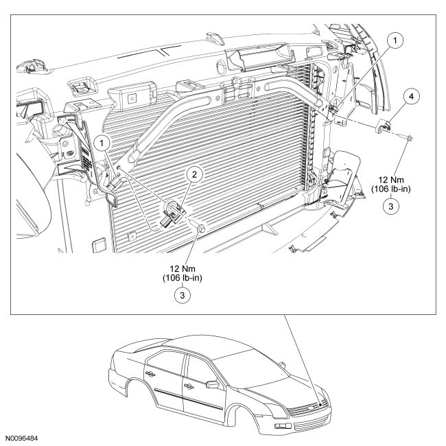 i have been fixing a 2010 ford fusion and have a solid Electric Power Steering Wiring Diagram