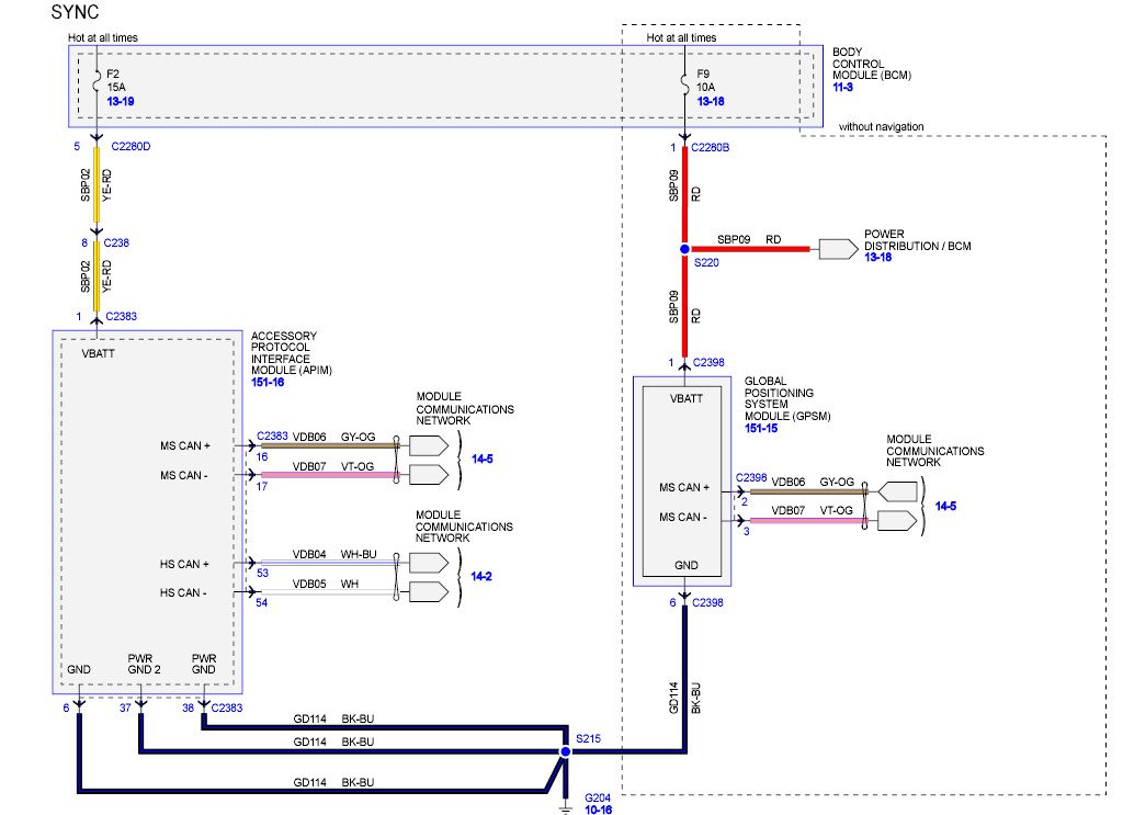 Wiring Diagram  35 2012 Ford F150 Radio Wiring Diagram