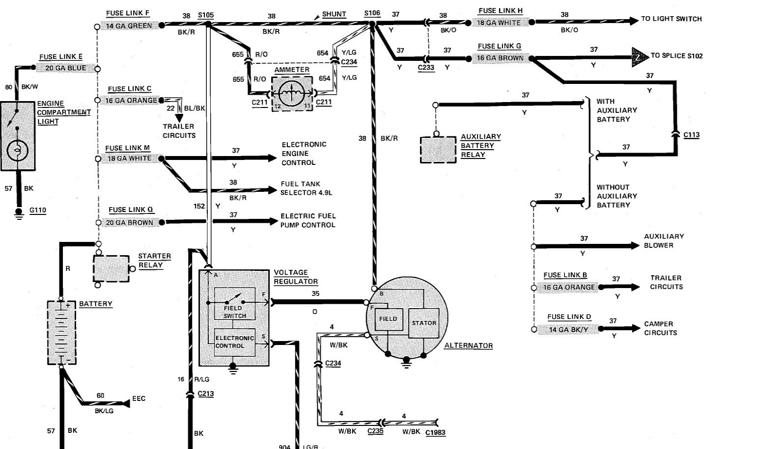 1987 ford e150 wiring diagram 1987 ford 350 wiring schematics diagrams | wiring library 2005 ford e150 wiring diagram schematic