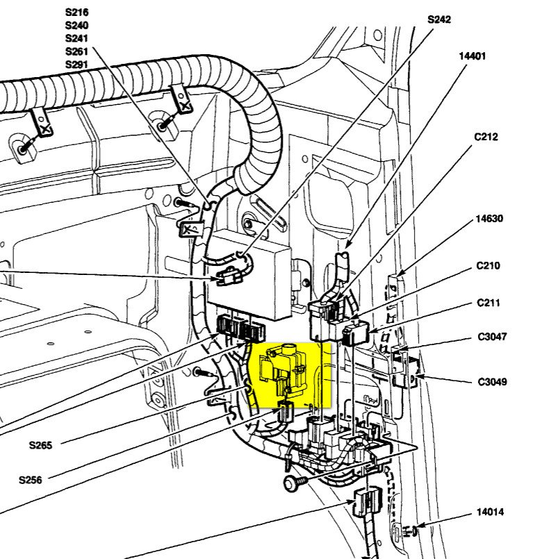 2001 vw jetta starter diagram