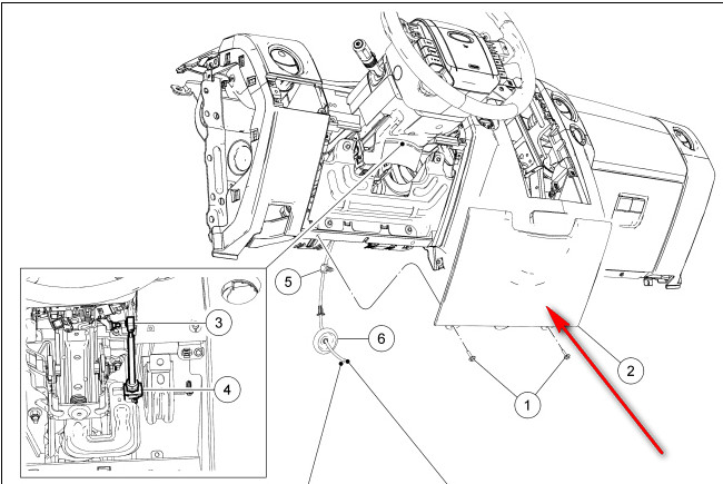 how to remove lower console 2004 ford escape