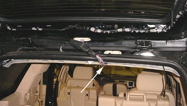 the rear liftgate on my 07 suburban opens then closes. Black Bedroom Furniture Sets. Home Design Ideas