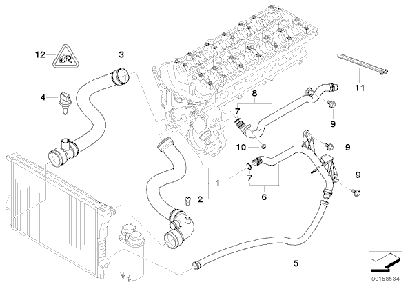 bmw 328i radiator diagram  bmw  free engine image for user