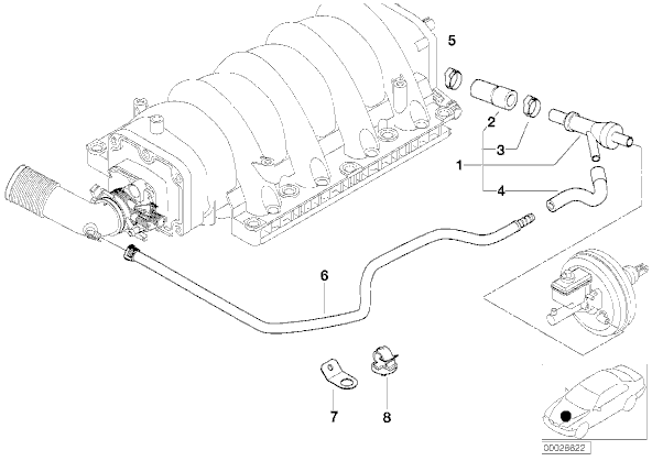 Bmw X5 O2 Sensor Diagram further T3370128 Need serpentine belt diagram 1994 bmw as well 1976 Dodge 360 Engine Diagram together with 2002 Bmw M3 Parts Catalog also Bmw M62 Hose Diagram. on 2000 bmw 528i serpentine belt diagram
