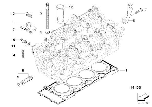 install 2004 bmw 545i engine diagram