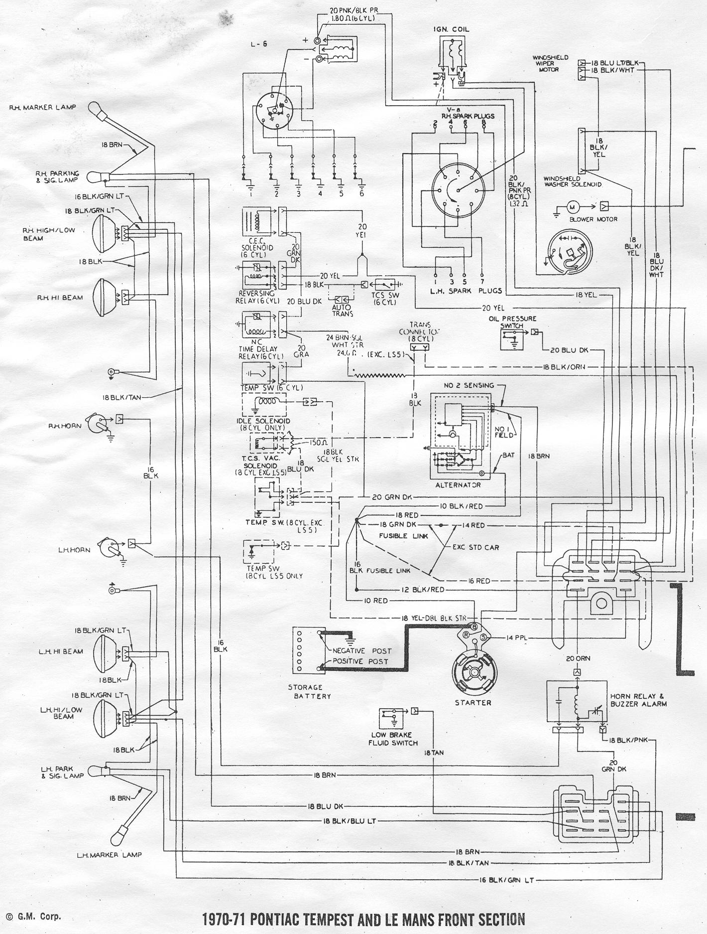 70 chevelle fuel gauge wiring diagram get free image