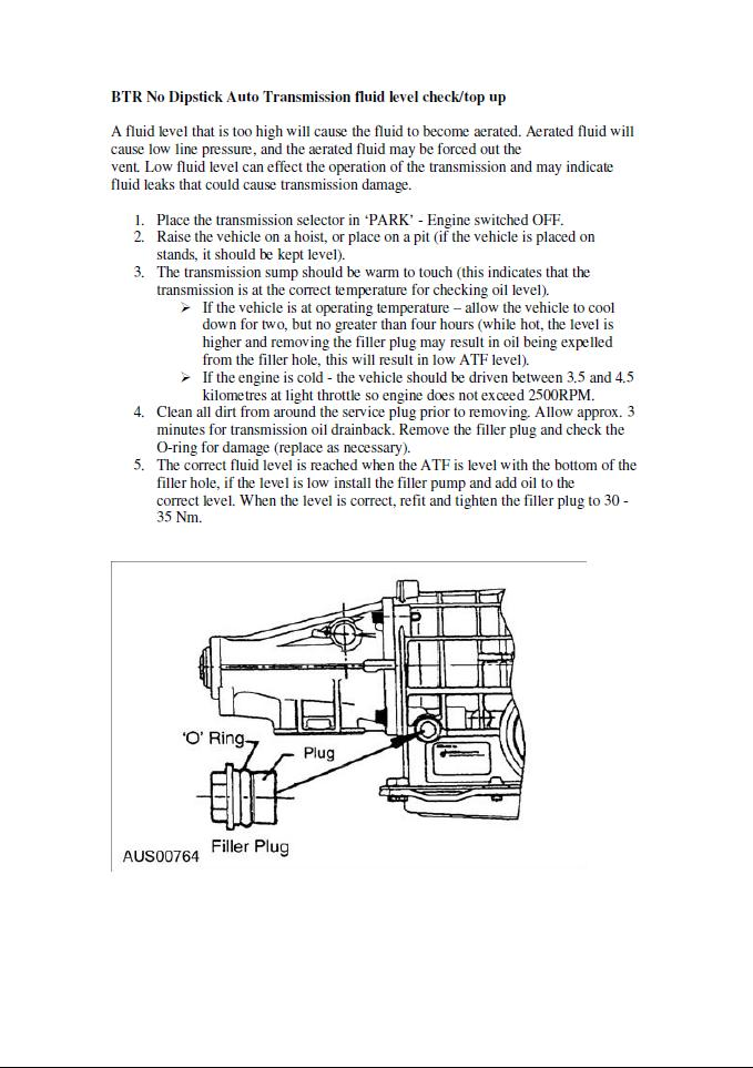 how to check manual transmission fluid