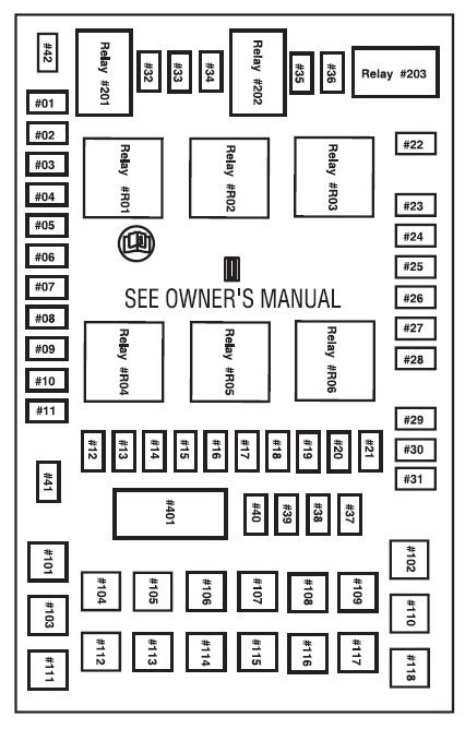 fuse diagram for 2004 ford f150 fx4