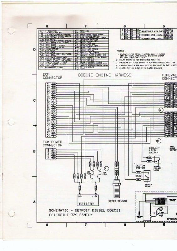 series 60 ecm ddec iv wiring diagram