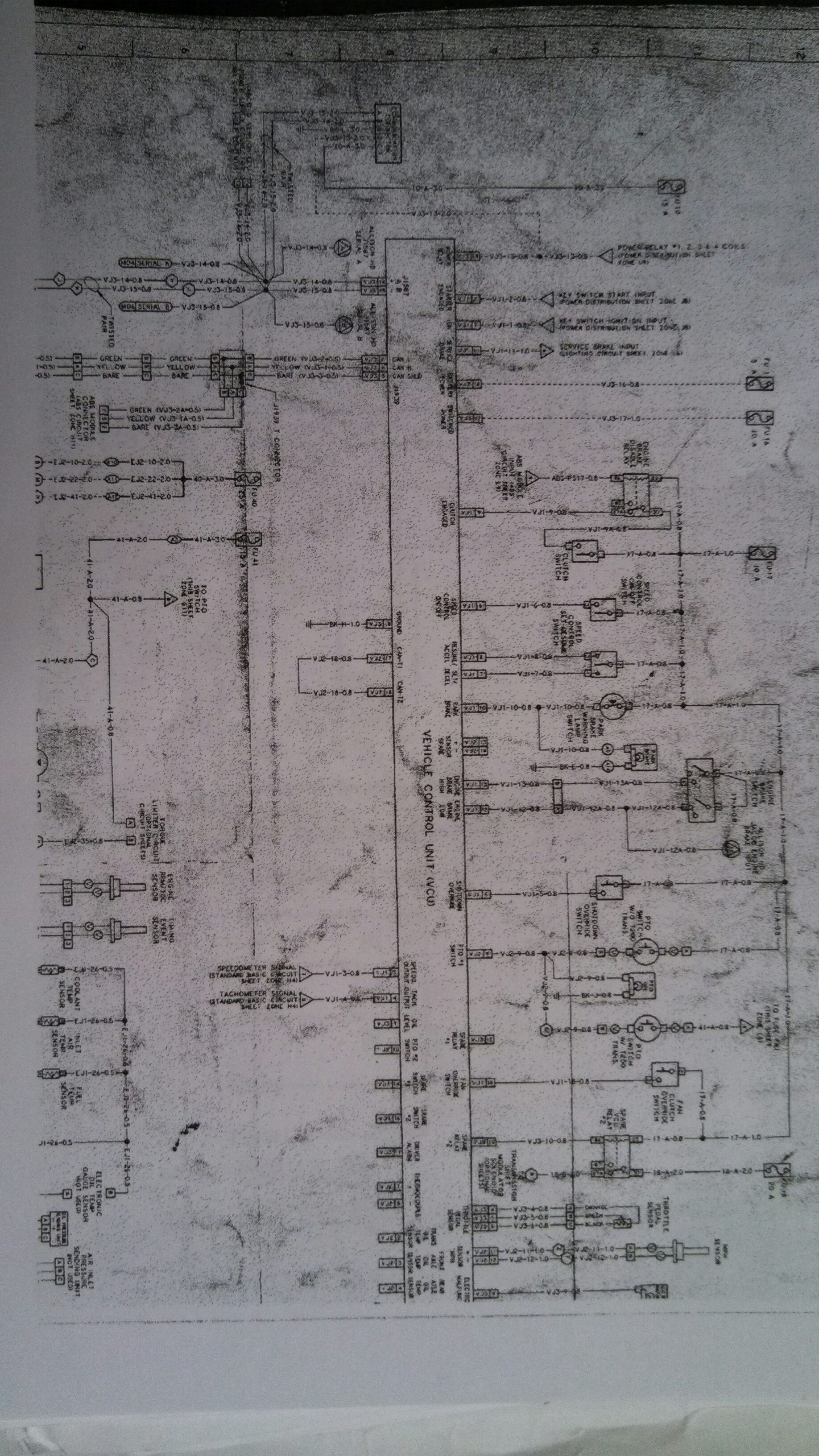 Mack Truck Wiring Diagram Another Blog About Electrical Diagrams For Trucks The 2010