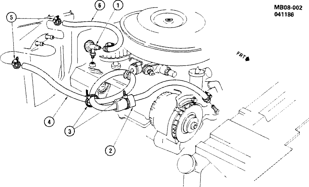 small block chevy coolant flow diagram
