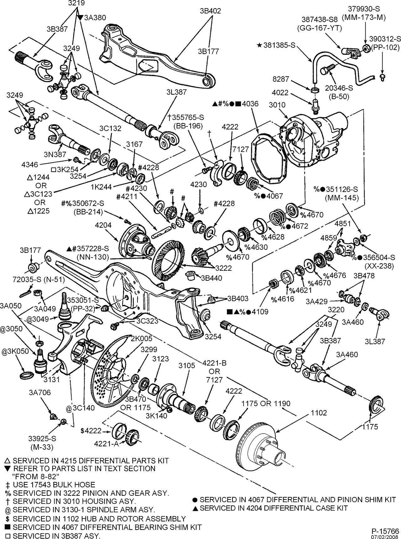ford f 250 front axle diagram