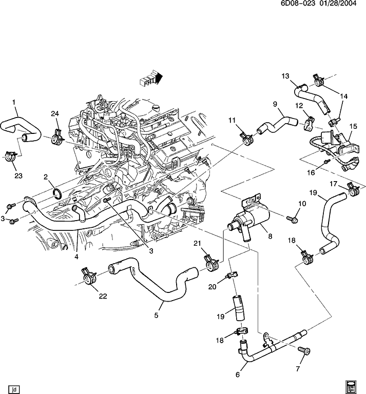 2003 cadillac cts vacuum hose diagram  2003  free engine image for user manual download