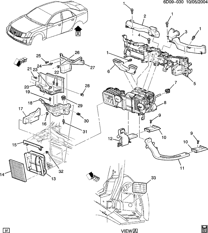 engine diagrams of 01 catera f355 engine