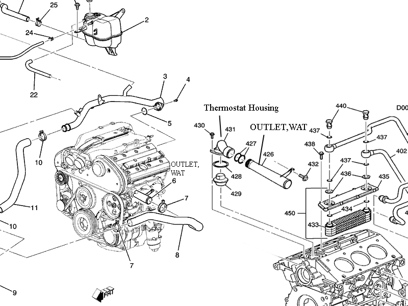 2013 cadillac srx parts diagram