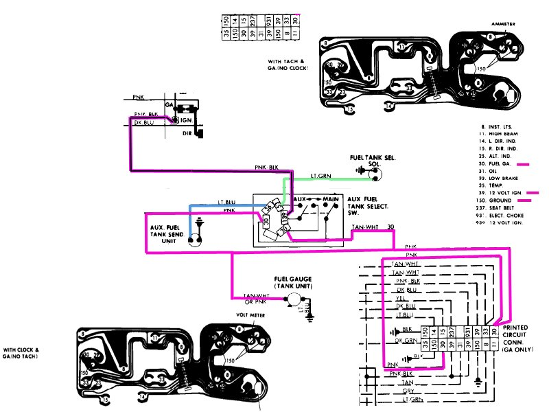 finishing up resto on a 1986 k10, can't get fuel gauge to ... chevy gas gauge wiring 1967 chevy impala gas gauge wiring diagram