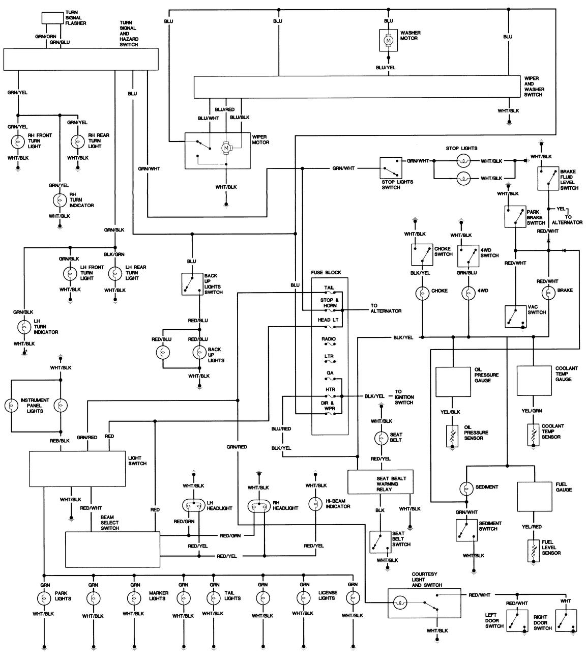 1995 toyota land cruiser wiring diagram  1995  free engine