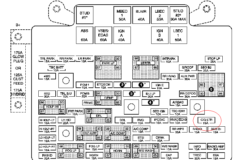 i have a jensen vm9214. i was tailgating recently and my ... fuse diagram for 2008 chevy truck