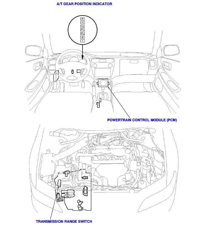 1999 Honda Accord Transmission Range Switch.html | Autos Post