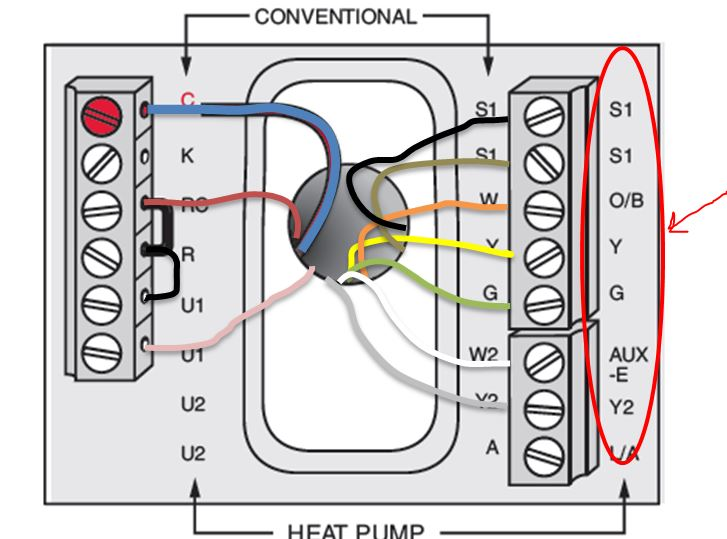 Wiring Diagram For Heat Pump System The wiring diagram – Goodman Heat Pump Thermostat Wiring Diagram