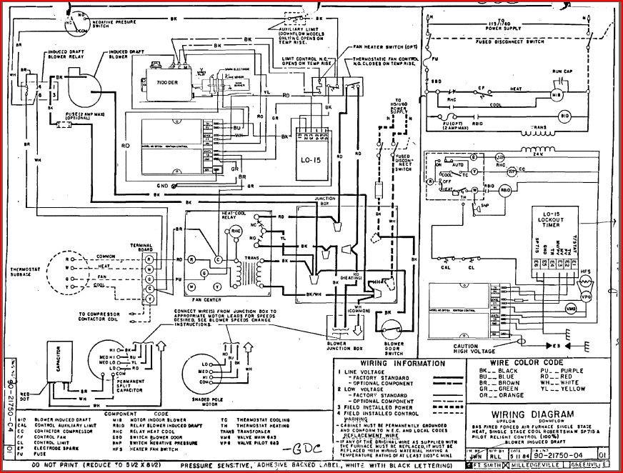 hvac wiring diagrams hvac wiring diagrams online