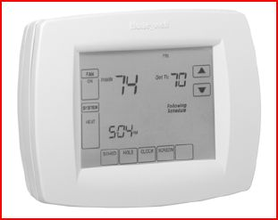 I Have A Honeywell Thermostat In My Upstairs  When I Try