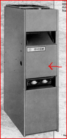 How To Turn On The Pilot Light On A 1979 Rheem Furnace