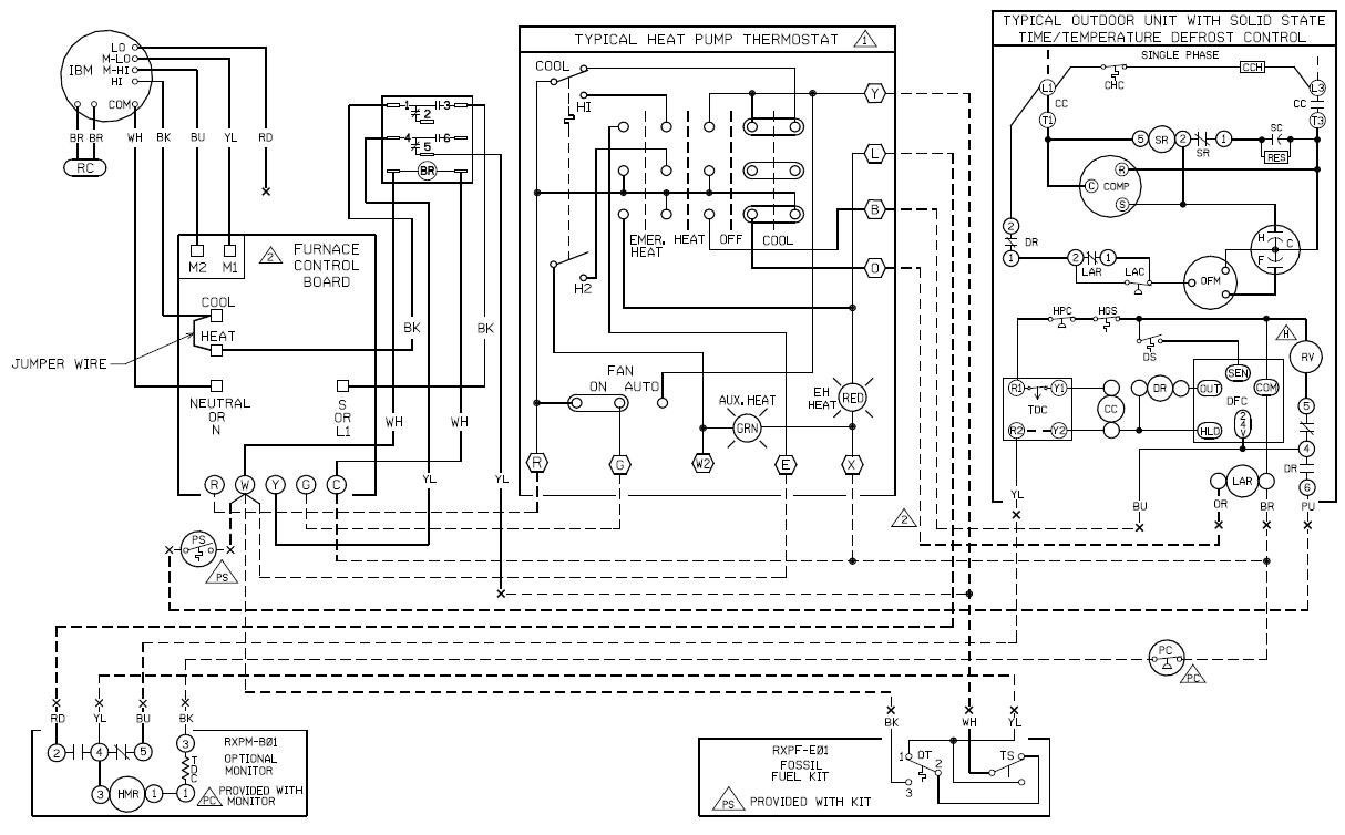 intertherm mobile home furnace wiring diagram