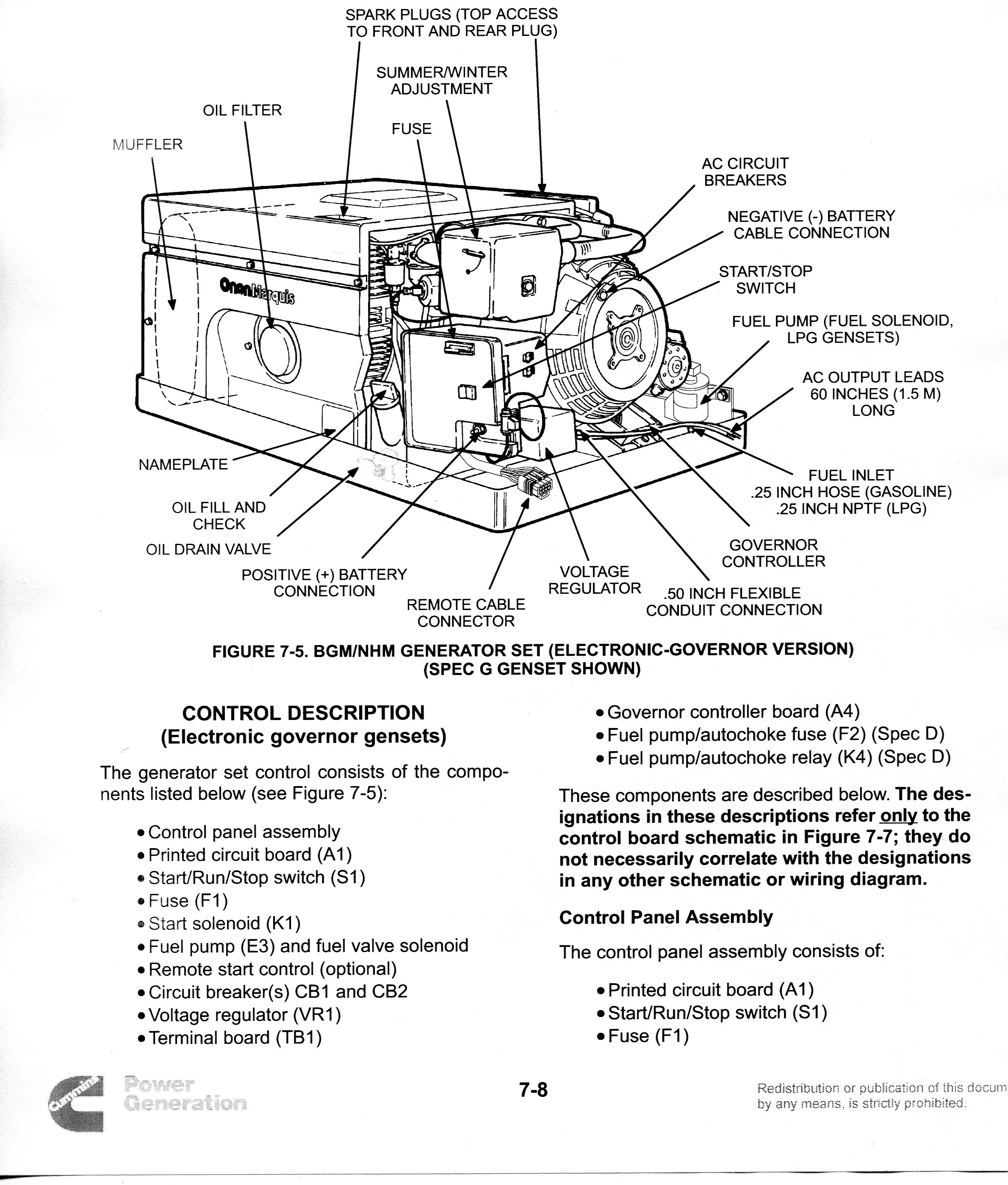 Onan Marquis 5500 Wiring Diagram - Wiring Solutions