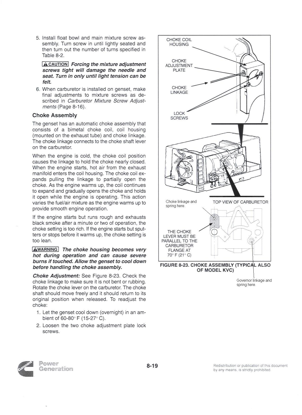 i an onan microlight 2800 generator its had carburetor