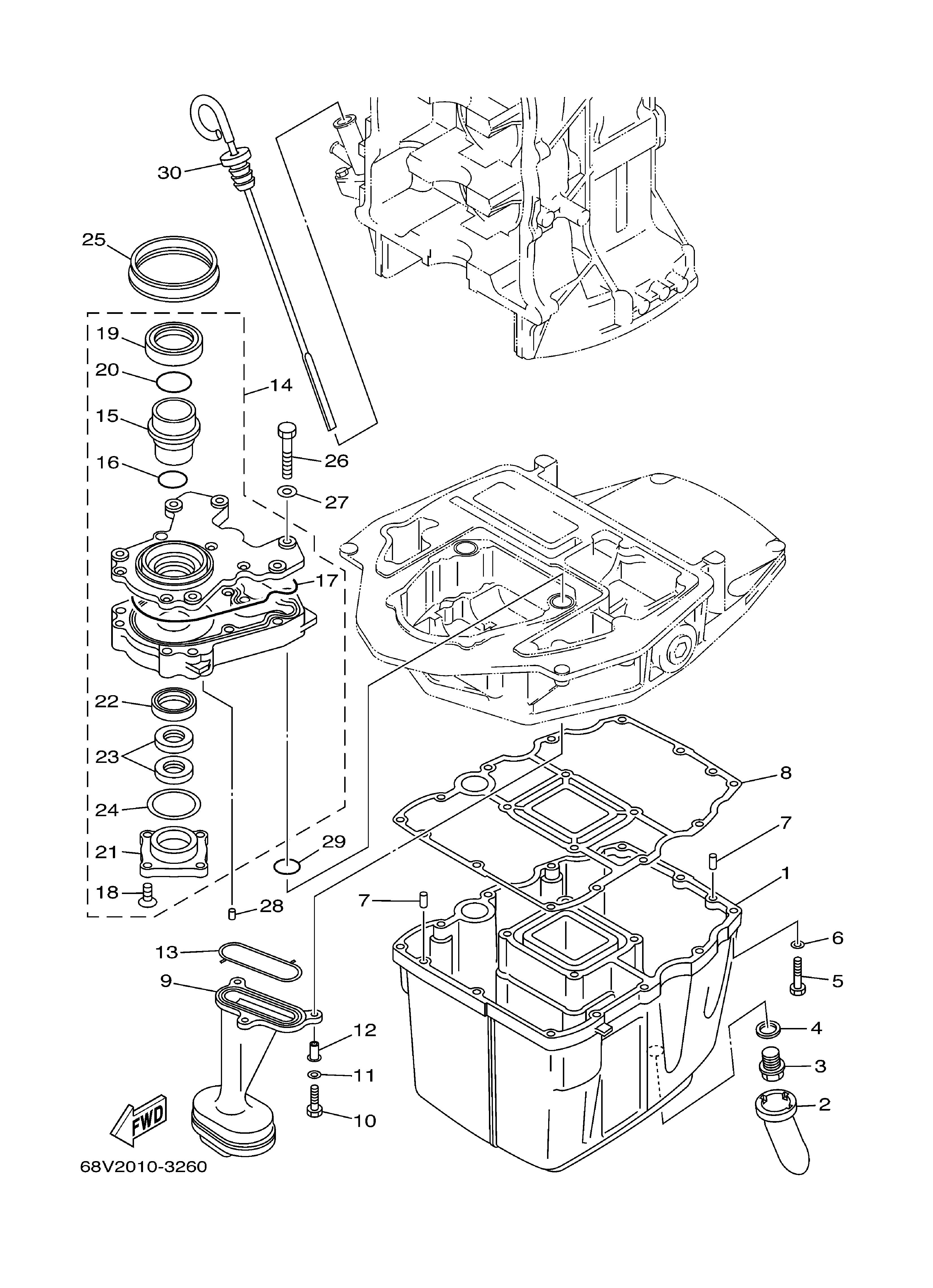 2005 ford escape coolant temperature sending unit location