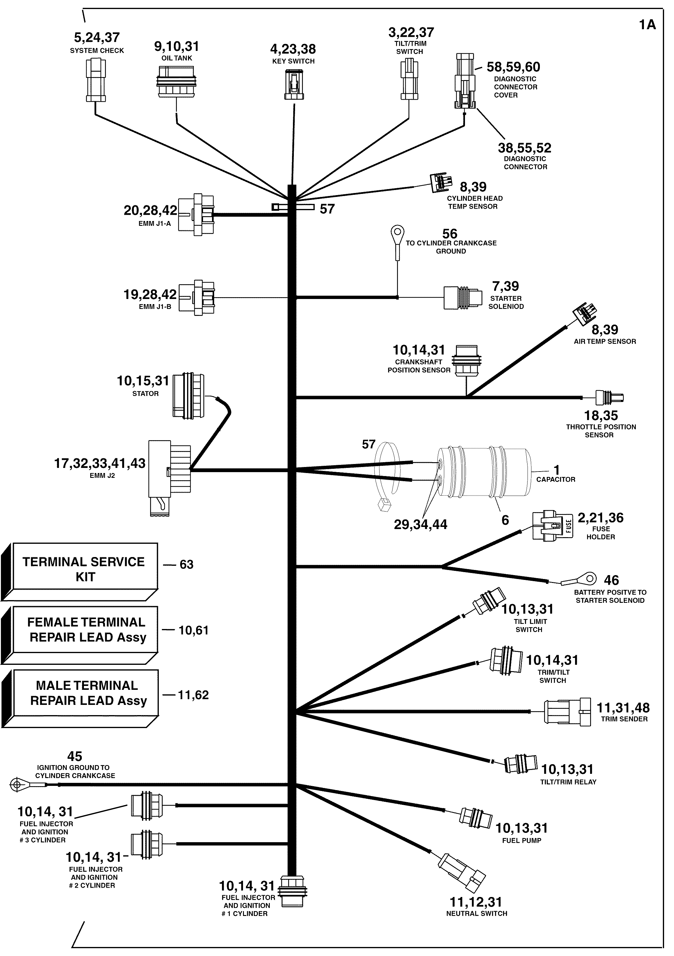 emgo ignition switch wiring diagram emgo image similiar 2006 mercury 90 hp wiring diagram keywords on emgo ignition switch wiring diagram