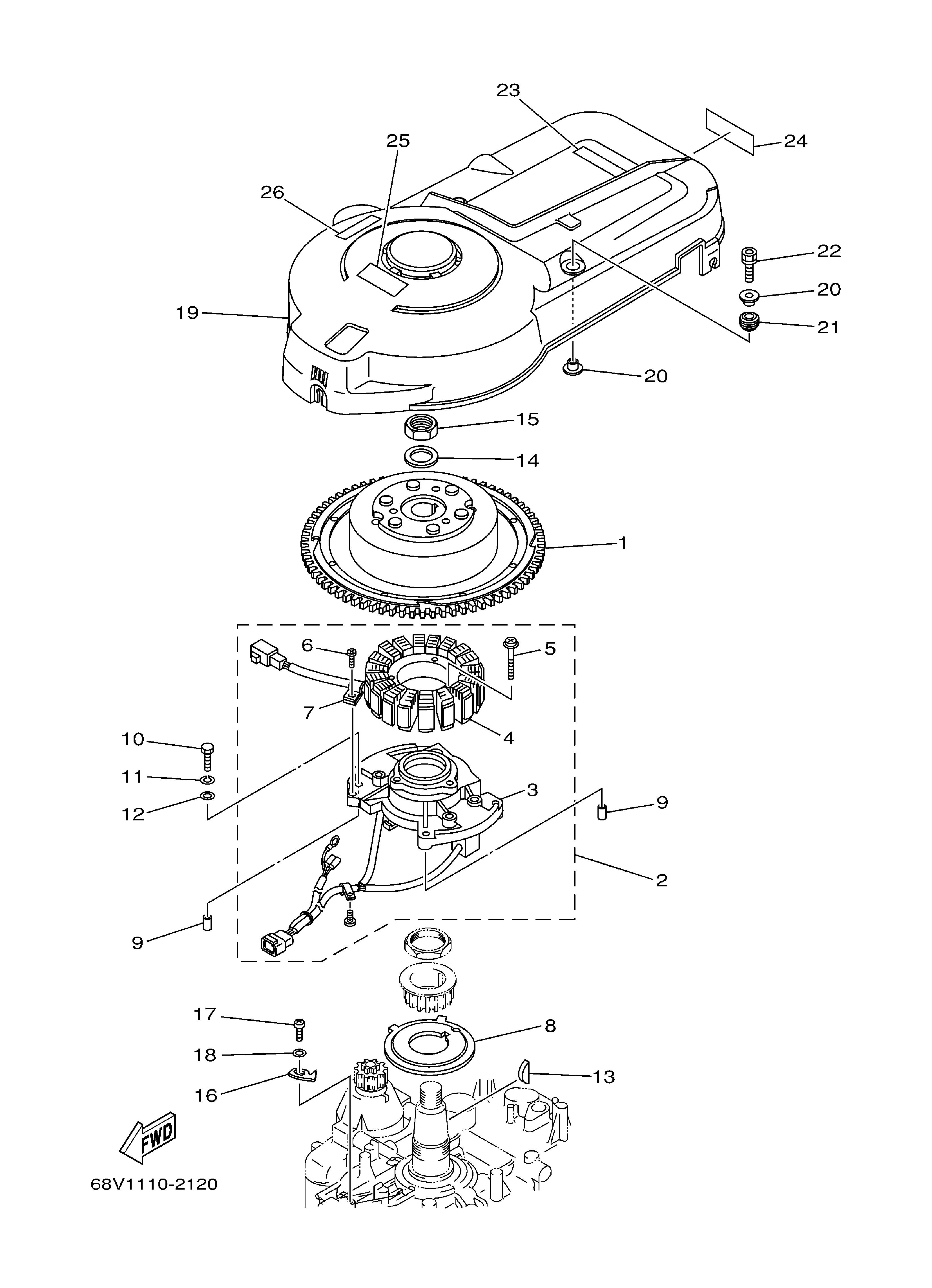 yamaha 4 stroke outboard wiring diagram  yamaha  free