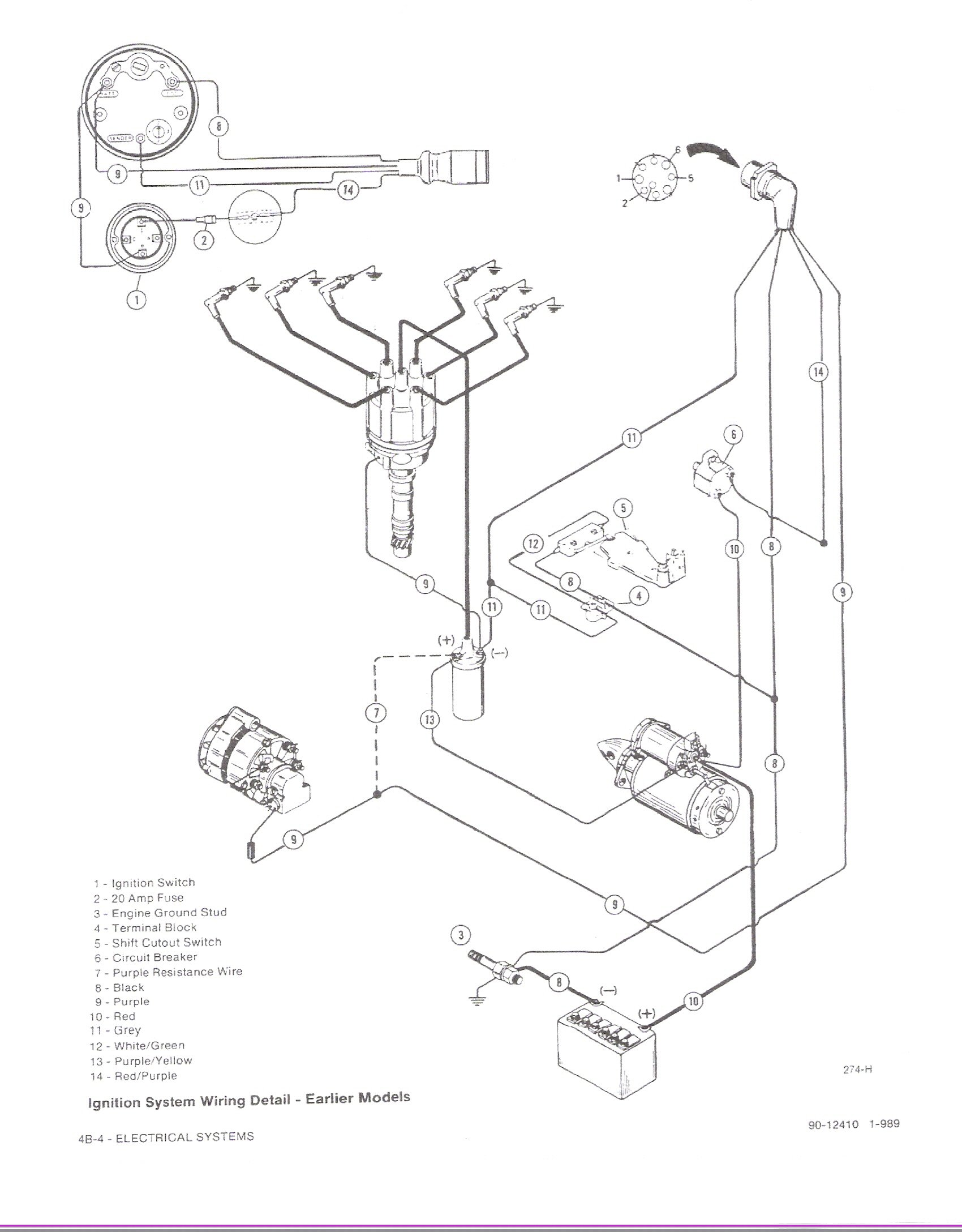 i replaced the 4 3l engine in my 93 sea ray with a new 1996 plymouth voyager wiring-diagram