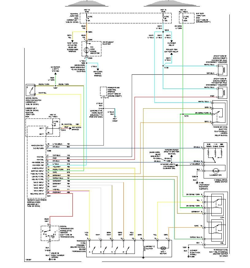 1997 ford f 250 4wd wiring diagram