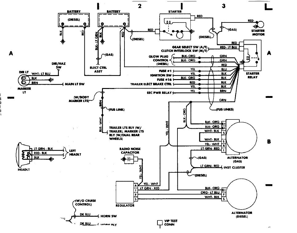 1988 ford f250 wiring diagrams